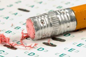 eraser mistake on exam_12172684